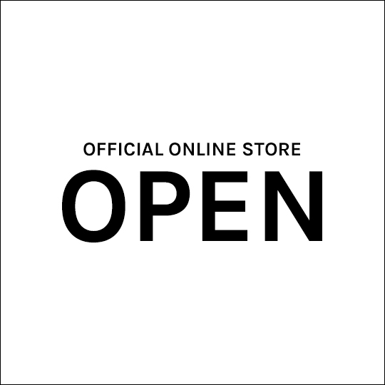 8.8(WED) OFFICIAL ONLINE STORE OPEN記念