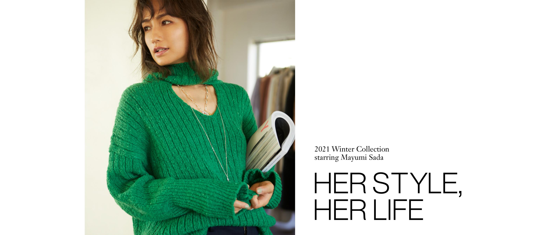 2021 Winter Collection starring Mayumi Sada