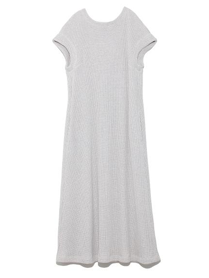 ワッフルロングドレス(LGRY-0)