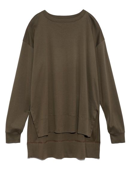 スリットロングTシャツ(KKI-F)