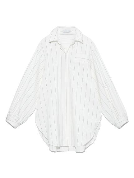 カシュクールシャツ(WHT-F)