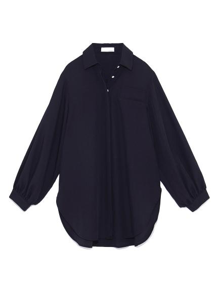 カシュクールシャツ(NVY-F)