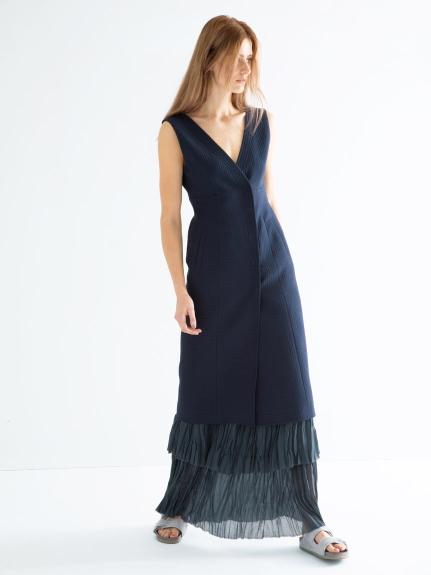 ノースリーブタイトドレス