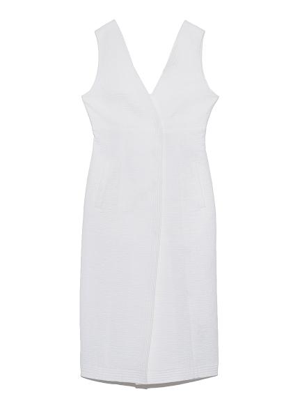 ノースリーブタイトドレス(WHT-0)