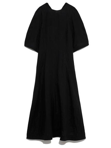 バックリボン ドレス(BLK-0)