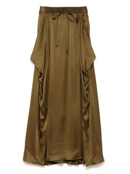 シルクサテンスカート