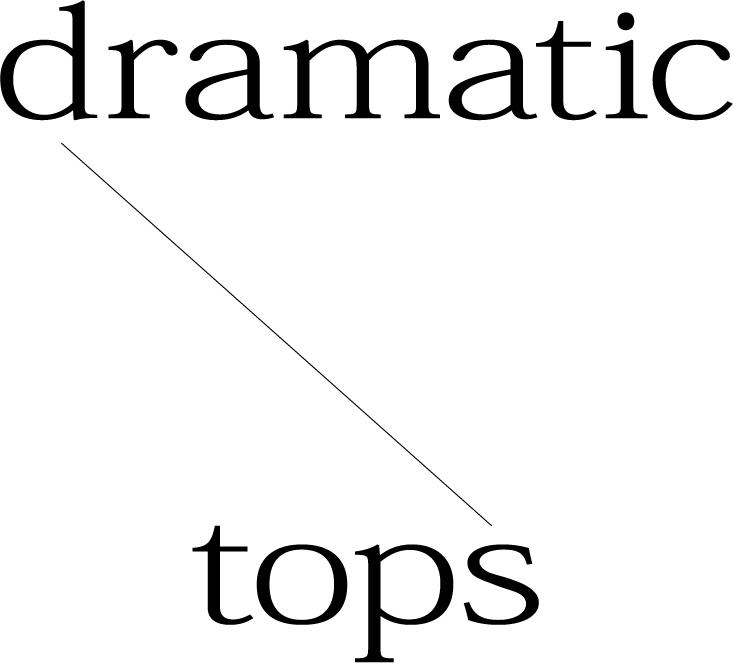 dramatic Title Image