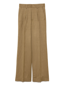 Front Tuck Pants 茶色
