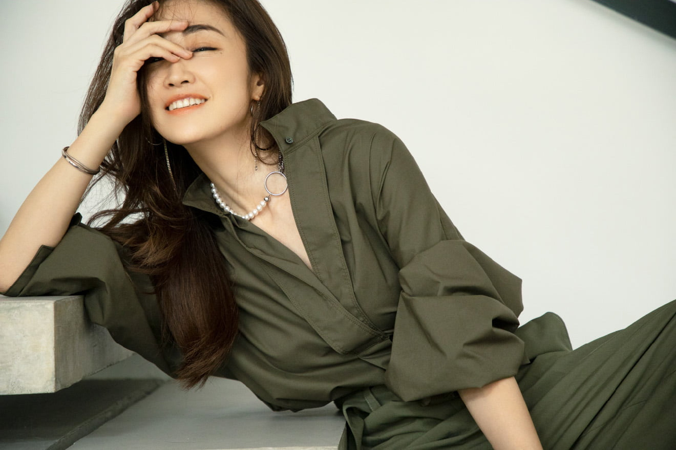 military shirt, belted military pants