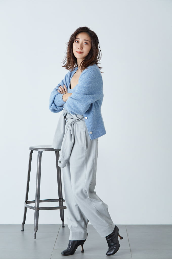 Ryoko Hayashi: Nuance Blue Knit