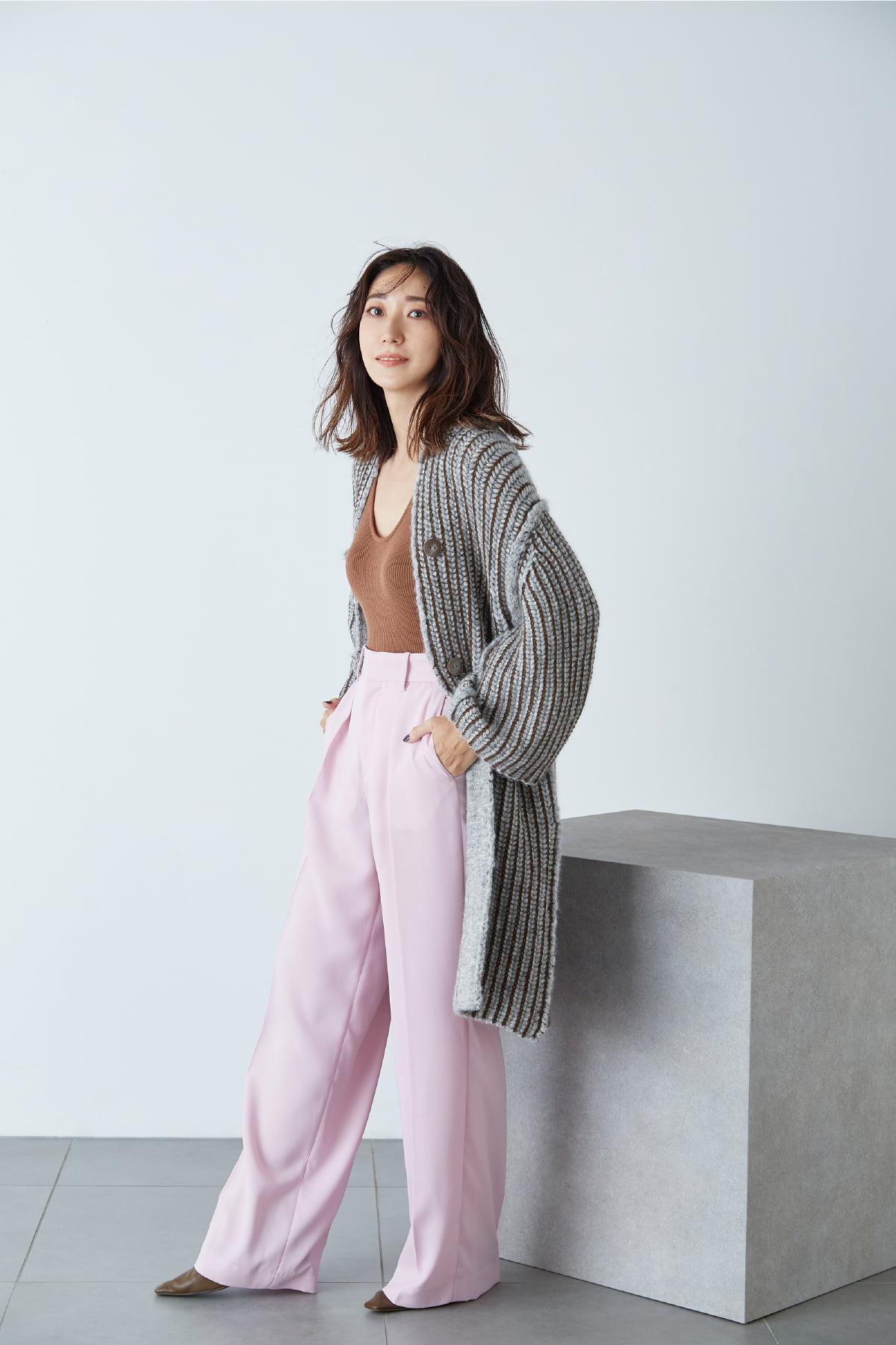 Ryoko Hayashi: Pale Pink Pants