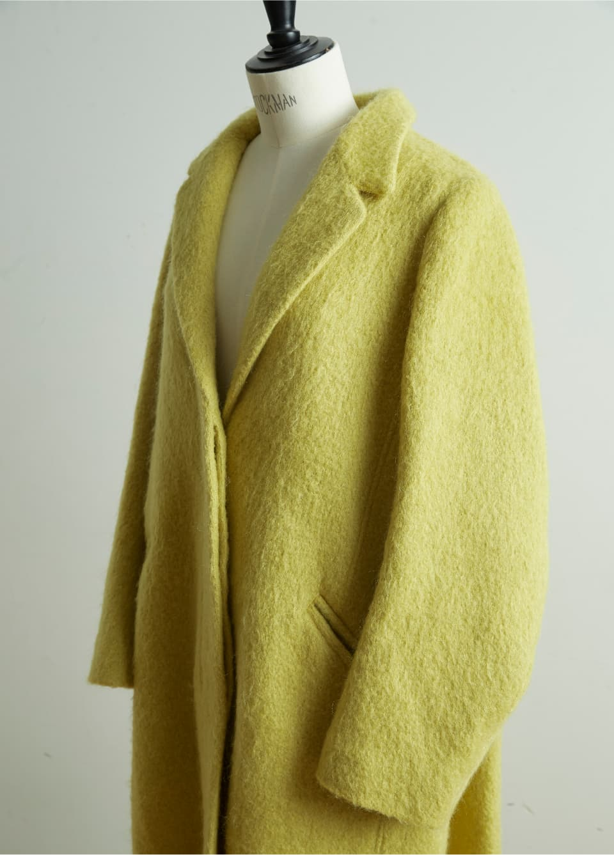 Back Cloak Dress Coat
