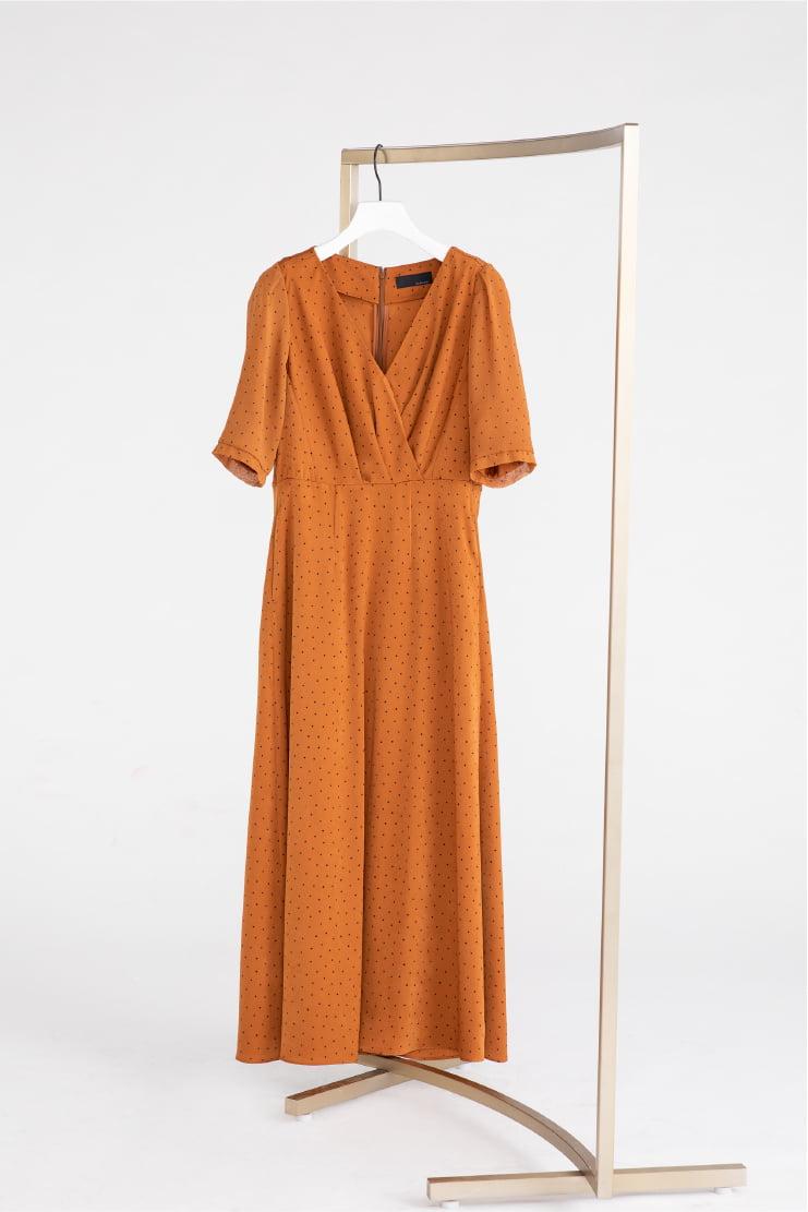 Dot Dress (ONLINE STORE LIMITED DRESS)