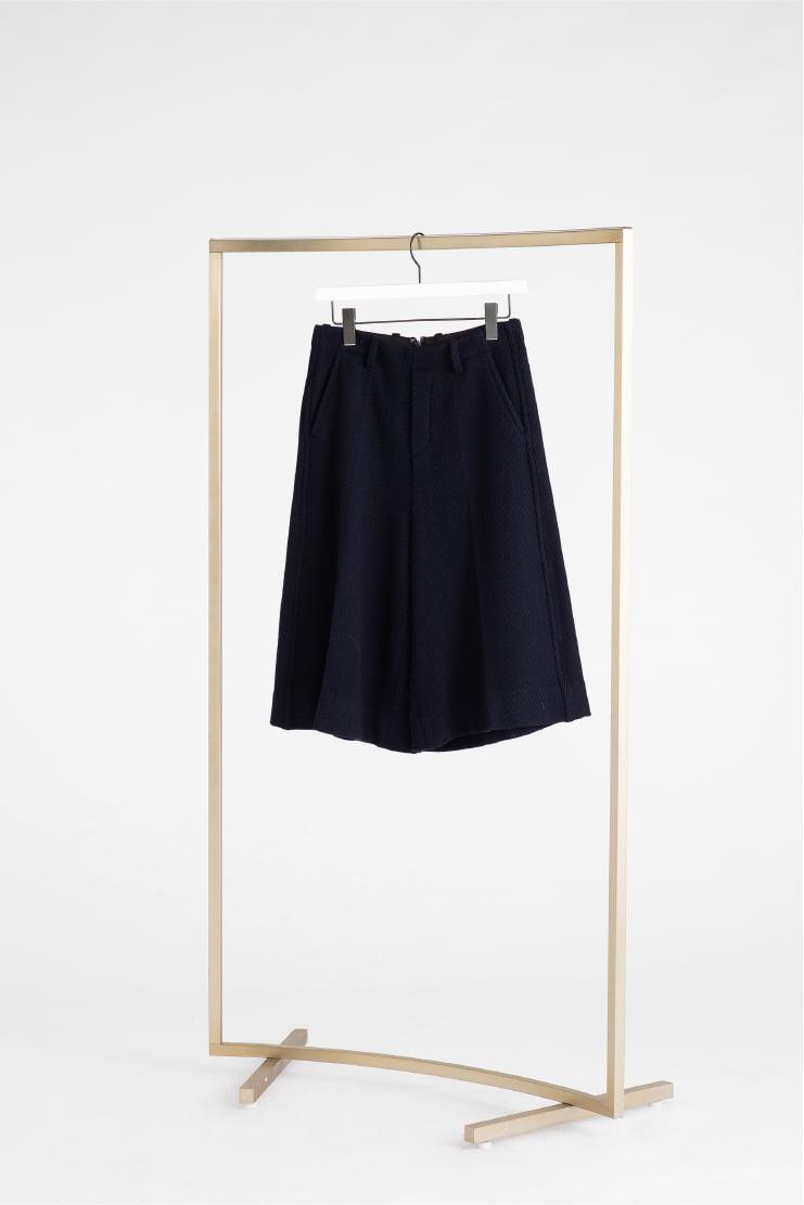 High Waist Midi Pants
