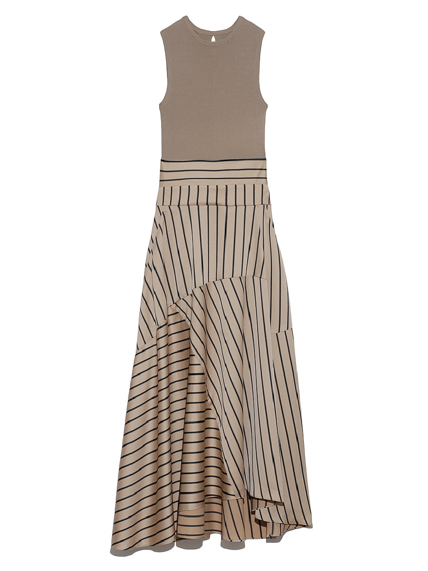 Sleeveless Docking Dress