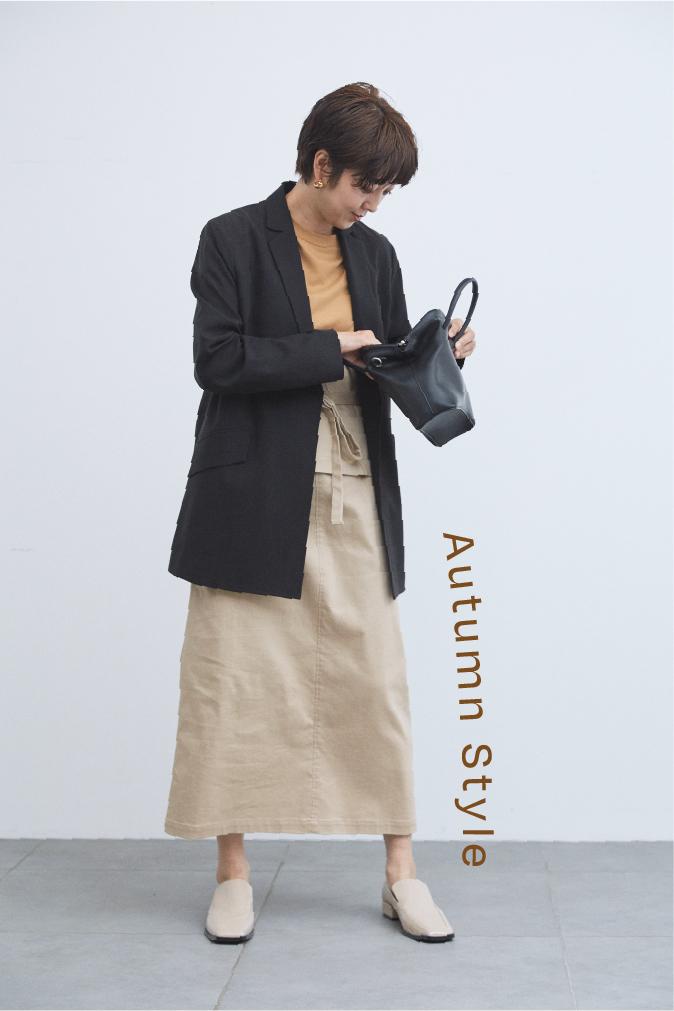 リラックス スーツジャケット、ミリタリードッキングワンピース