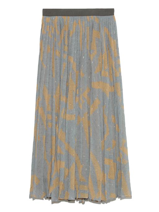 シフォンプリーツスカート