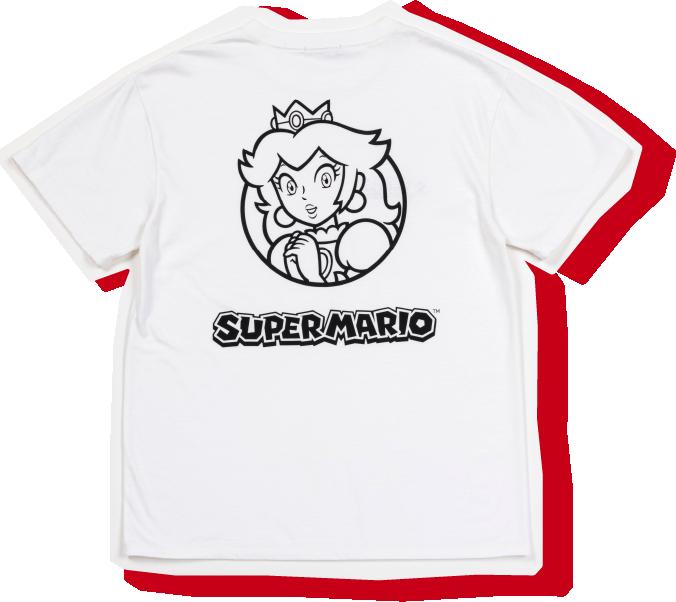 マリオプリントTシャツ